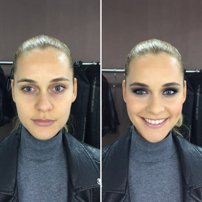 Antes/después a Paula- productos Bobbi Brown