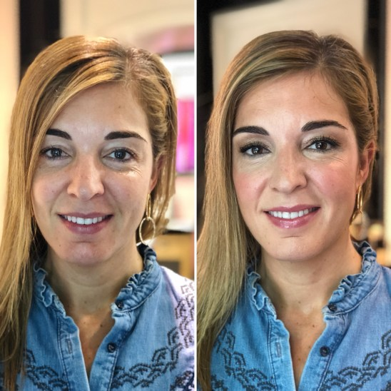 Maquillaje ANTES/DESPUES a Míriam - Bobbi Brown