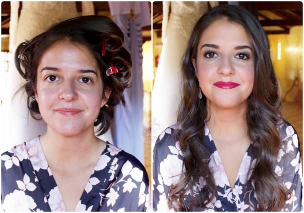 Antes/Después Cristina boda su hermana Laura - Bobbi Brown