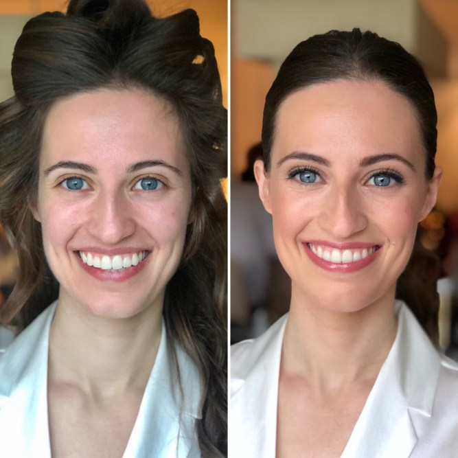 Antes/ Después boda Ana - Bobbi Brown
