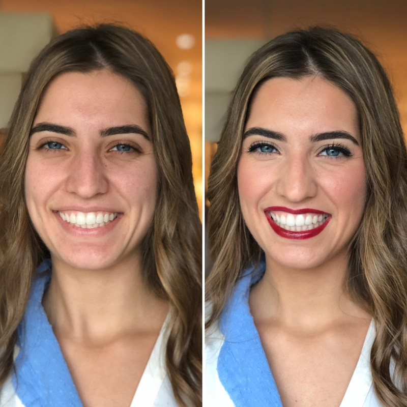 Antes/después María hermana Ana