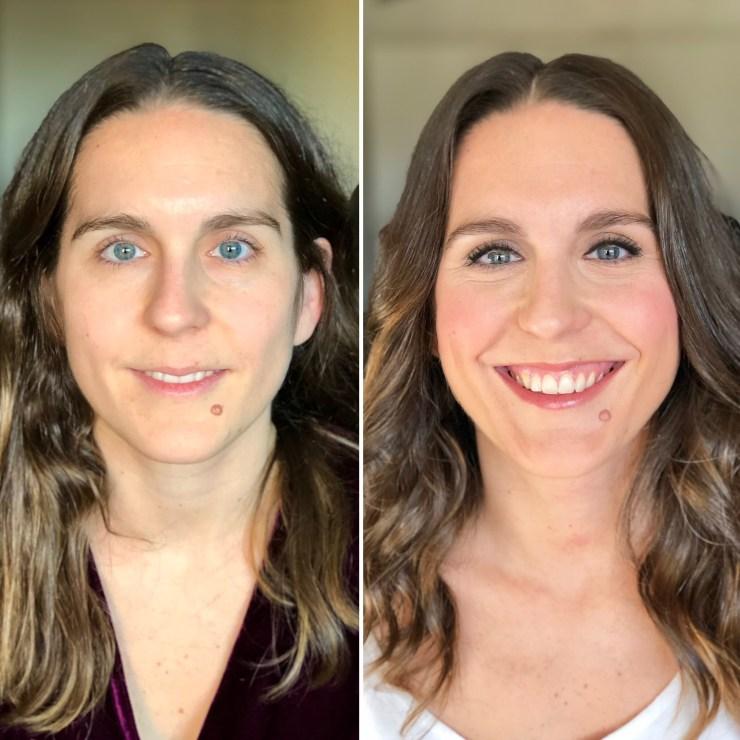 Antes/Después - Bobbi Brown Cosmetics