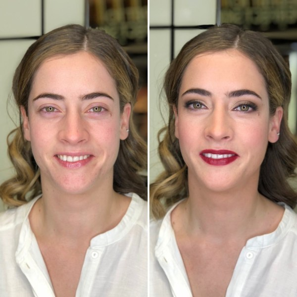 Antes/Después Studio Bobbi Brown Lagasca