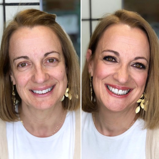 Antes/después Bobbi Brown Lagasca