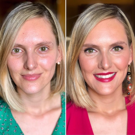 Antes/después Lola- Bobbi Brown