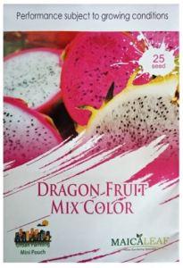 gambar benih buah naga mixed