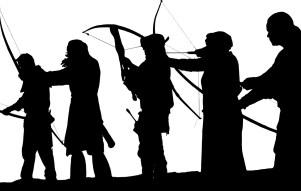 blog post on herem warfare in old testament fighting image scene