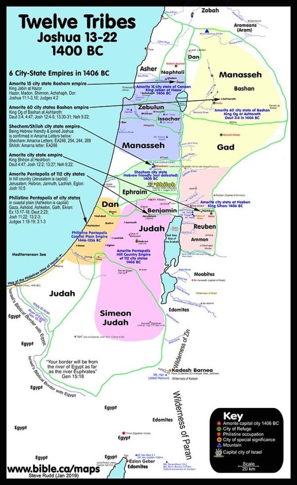 100 Free Printable Public Use Bible Maps