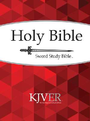 KJVer Sword Study Bible Personal SizeLarge Print Softcover