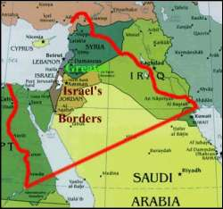 Map of Greater Israel