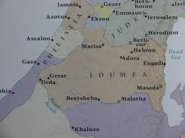 map of Idumea