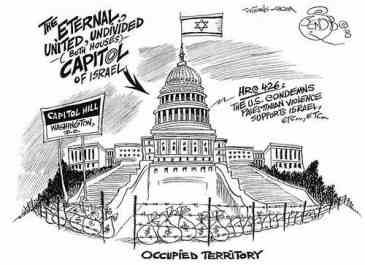 Washington DC, Israeli-occupied territory