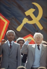 Nelson Mandela & Joe Slomo, Communists