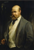 Portrait of Lord Lionel Walter Rothschild