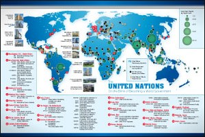 UN Mercator map of world