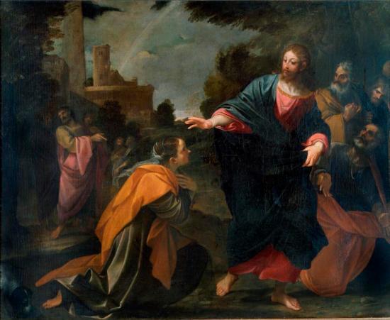 Christ and the Canaanite Woman - Pinacoteca di Brera