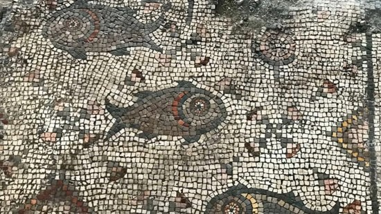 Mosaic found in ancient church depicts Jesus miracle