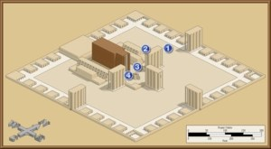 The route God took through the Great Temple