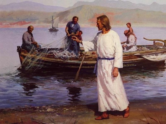 Bible Story-Jesus Calls His First Disciples