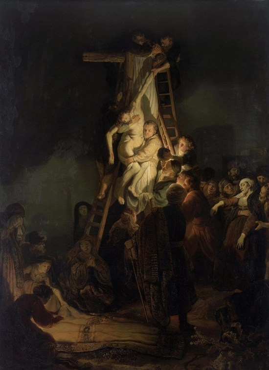 The Descent from the Cross - Rembrandt van Rign (1634)
