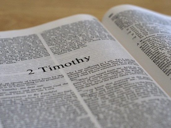 Detailed outline of 2 Timothy