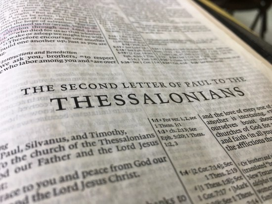 Detailed outline of 2 Thessalonians