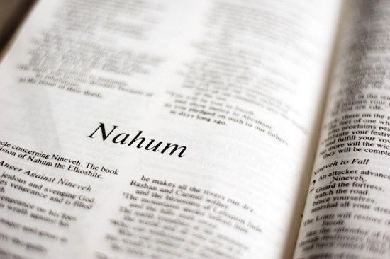 Detailed outline of the Book of Nahum