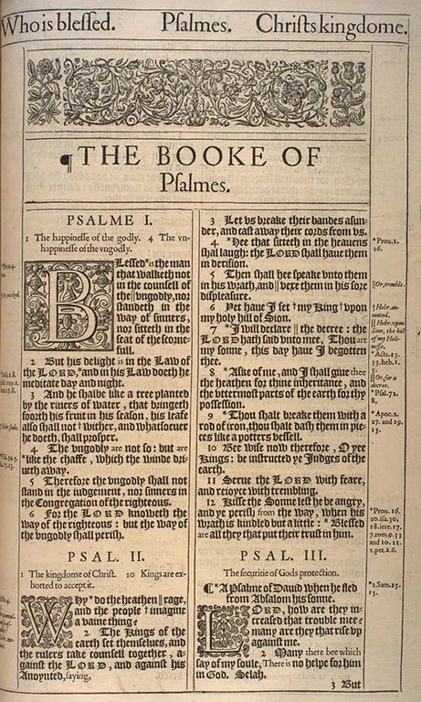 Detailed outline of the Book of Psalms
