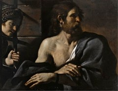 Saint John The Baptist In Prison Visited By Salome - Guercino
