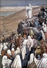 The Sermon of the Beatitudes (1886-96) by James Tissot