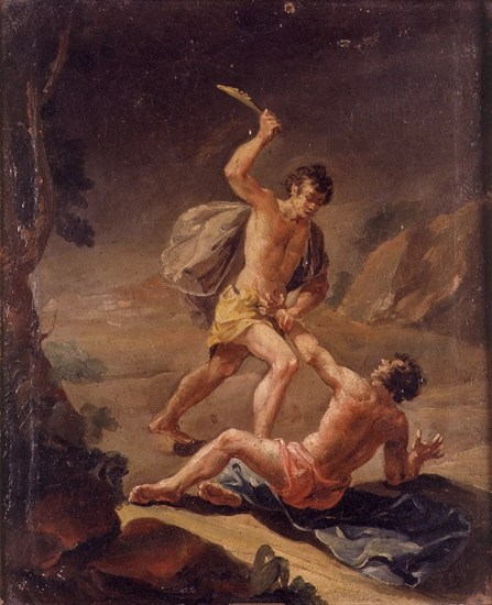 Cain and Abel - the first murder - unknown