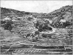 Valley of Hinnom in early 1900's
