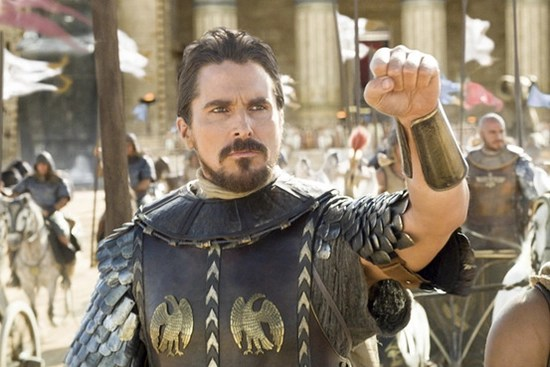 Controversial actor Christian Bale stars in Exodus: Of God and Kings