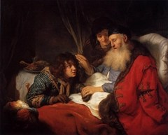 Isaac blessing Jacob; Govert FLINCK; 1639; Oil on canvas; Rijksmuseum, Amsterdam