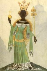 Queen of Sheba from Bellifortis by Conrad Kyeser (1405)