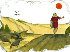 The Parable of the Sower - courtesy Free Bible Images - Artist unknown
