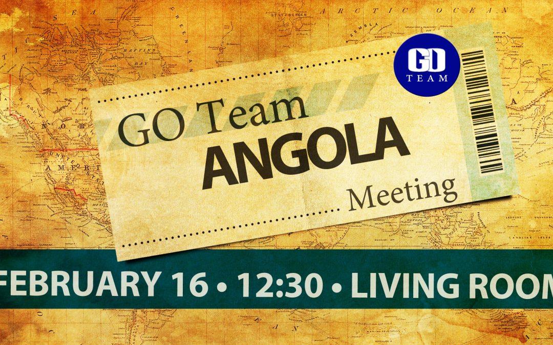 Angola GO Team Meeting