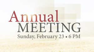 02-23-14 Annual Meeting