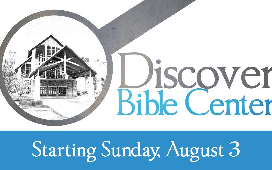 Discover Bible Center (5-week class)