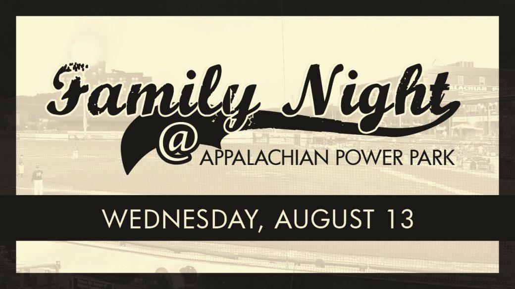 Family Night at Appalachian Power Park