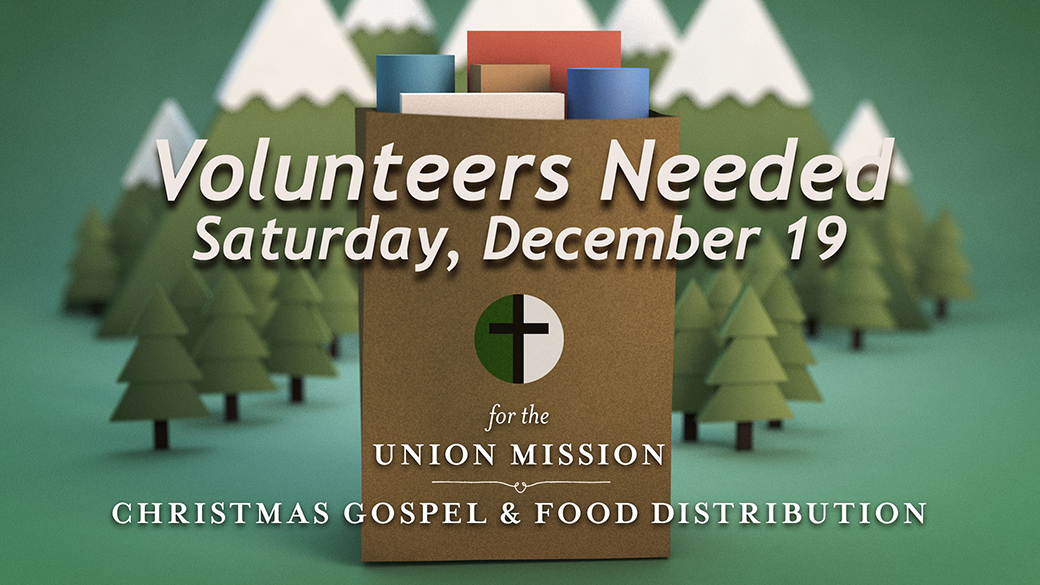 Christmas Gospel Service & Food Distribution