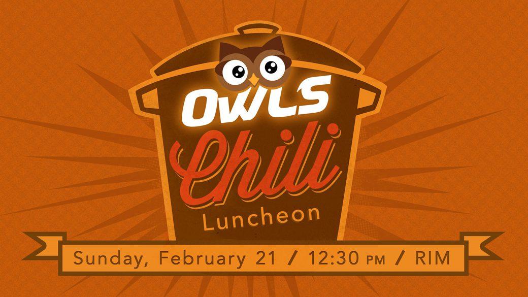 OWLS Chili Luncheon