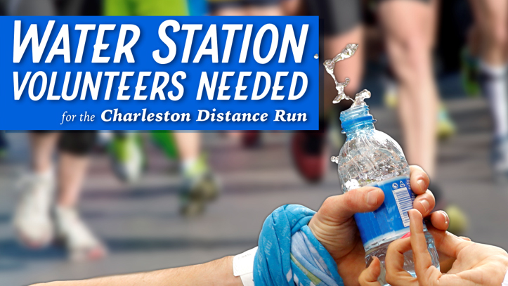 Water Station Volunteers for Charleston Distance Run
