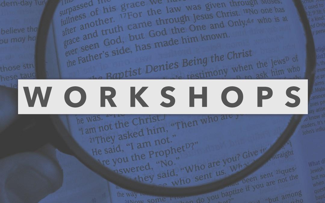 Workshop: Survey of World Religions