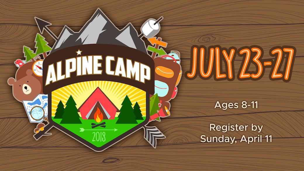 Alpine Camp Registration (Ages 8-11)