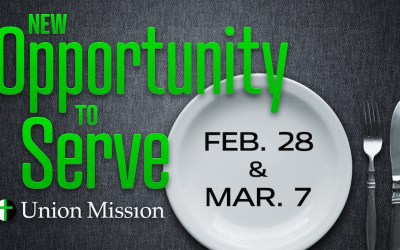 New Opportunity to Serve