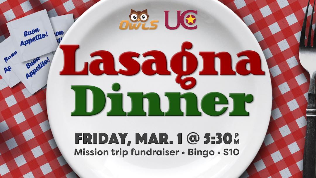 Lasagna & Bingo (OWLS, 55+)