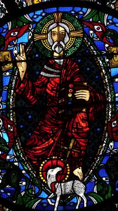Vitrail de l'Apocalypse (Détail) — Cathédrale de Clermont-Ferrand