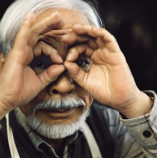 Hayao Miyazaki  Double signal 666  Double signal de l'œil Illuminati