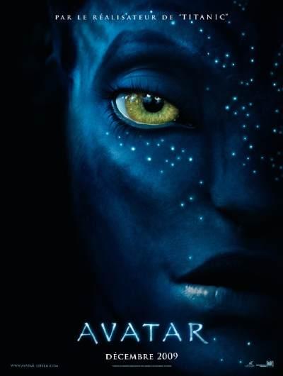 """Affiche du film """"Avatar"""" de James Cameron"""
